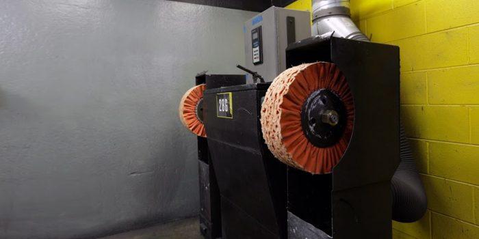 Baldor Metal Polishing Machine