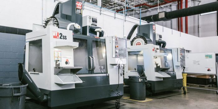 Vertical CNC Mill – Geremarie Corporation