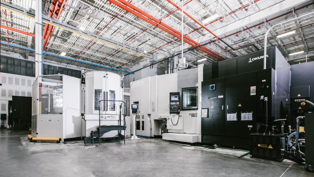 OKUMA HORIZONTAL MB8000H WITH FLEXIBLE MANUFACTURING SYSTEM