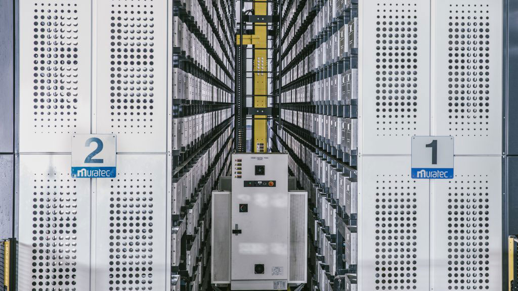 MURATEC AUTOMATED STORAGE AND RETRIEVAL SYSTEM